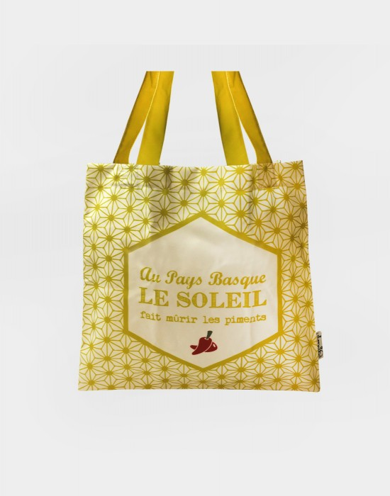 "Tote bag of my country ""Le soleil du Pays Basque"""