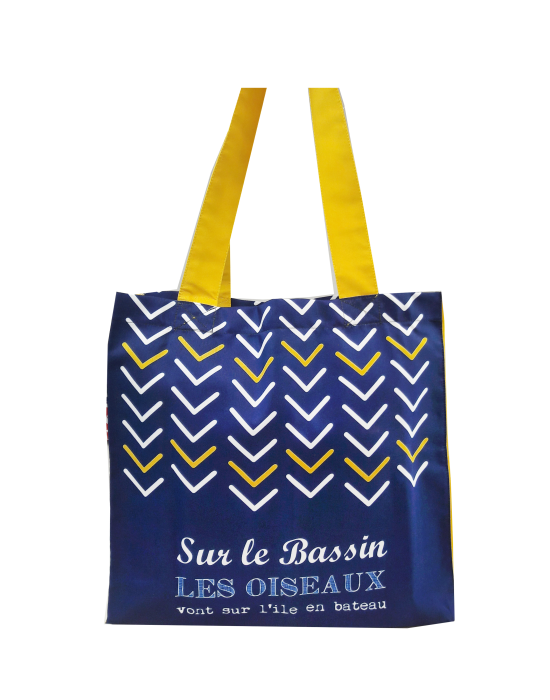 "Tote bag of my country ""Les oiseaux du bassin"""