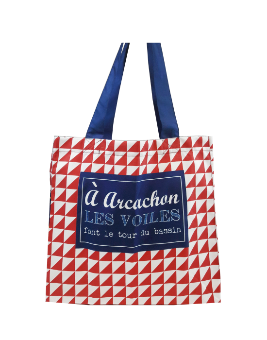 "Tote bag of my country ""Les voiles du bassin"""
