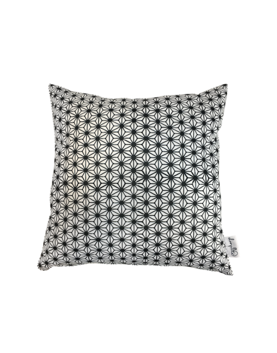 "Cushion cover ""Le cosmos en N&B"" recto"