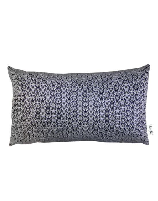 "Cushion cover ""Les collines de la nuit"" recto"