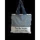 """Tote bag of my country """"Les vagues des Landes"""""""