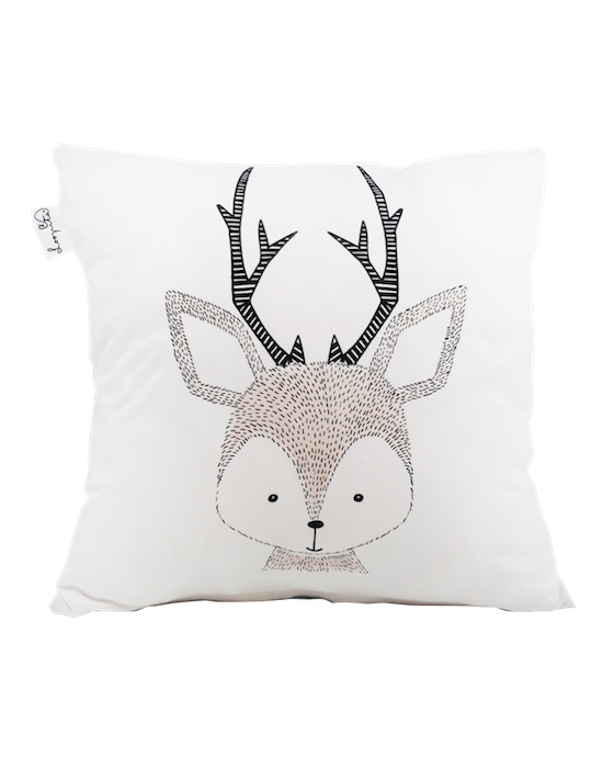 "Kids cushion cover ""My deer"" recto"