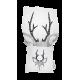 "LOOPITA Housse de coussin ""My Deer"" + trousse"