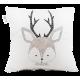 """LOOPITA Housse de coussin """"My Deer"""" recto"""