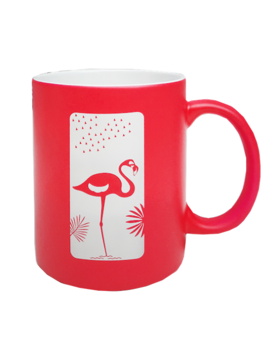 LOOPITA Mug Flamant recto