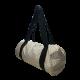 "LOOPITA Grand sac baluchon ""WE chez les Ostrogoths blancs"" face profil"