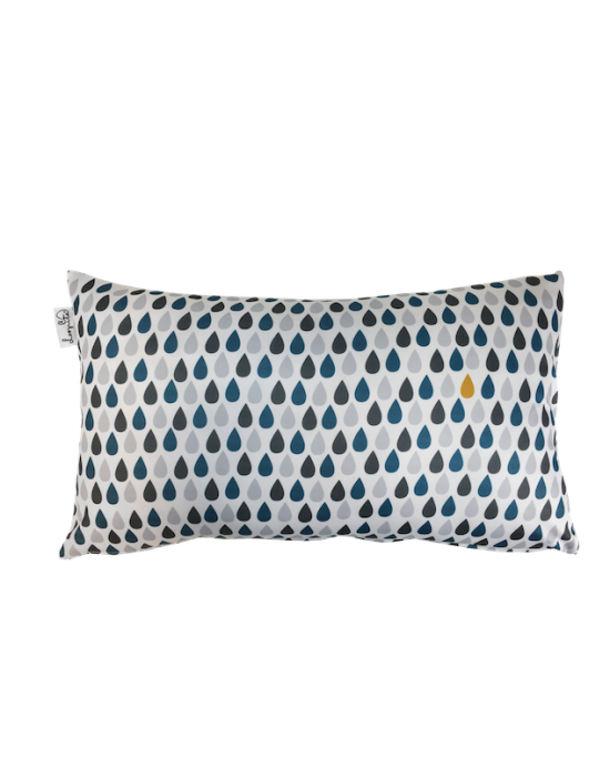 "Cushion cover ""Il pleut des canards"" recto"