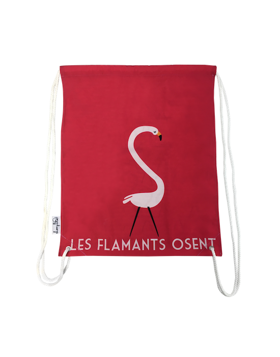 Les flamants