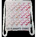 "LOOPITA Sac à dos ""Les flamants"" plat verso"