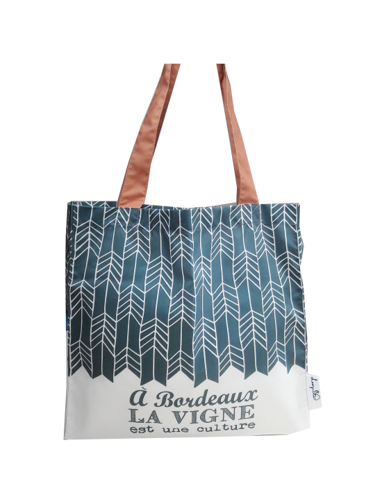 "Tote bag of my country ""La vigne de Bordeaux"""