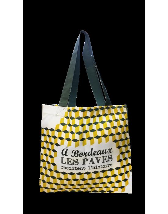 """Les cabas de mon pays """"Les pavés de Bordeaux"""""""