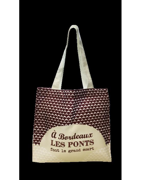 """LOOPITA Les cabas de mon pays """"Les ponts de Bordeaux"""""""