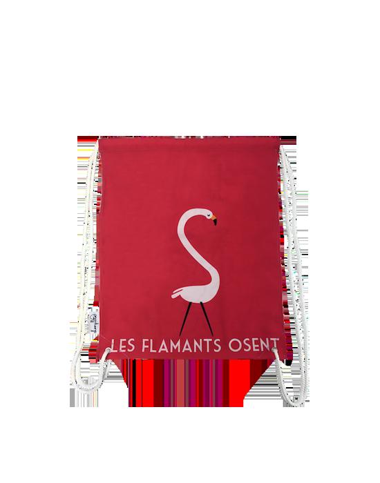 "LOOPITA Sac à dos ""Les flamants"""