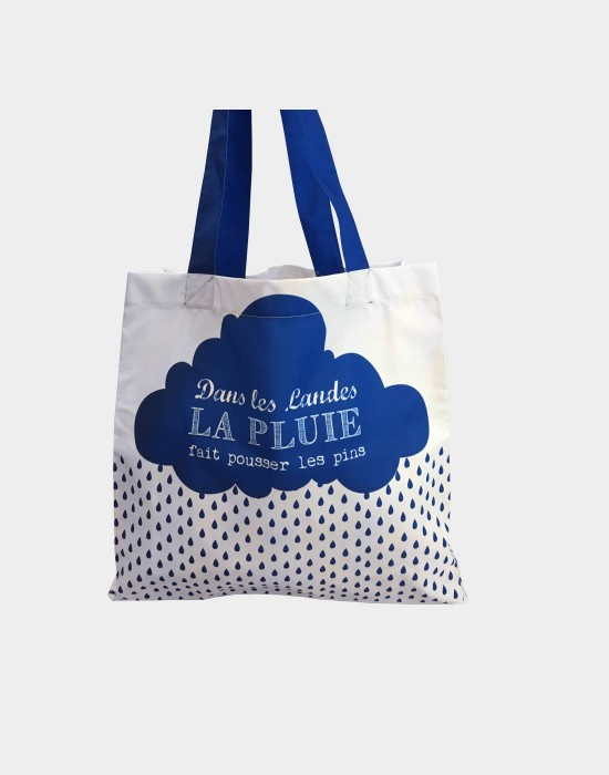 "Tote bag of my country ""La pluie des Landes"""