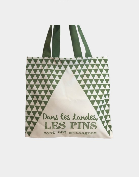 "Tote bag of my country ""Les pins des landes"""