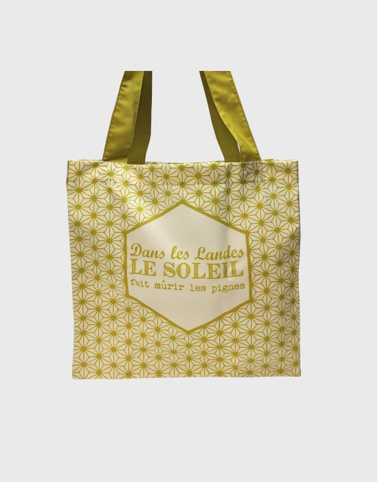 "Tote bag of my country ""Le soleil des Landes"""