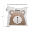 "LOOPITA Housse de coussin ""My Bear"" recto"