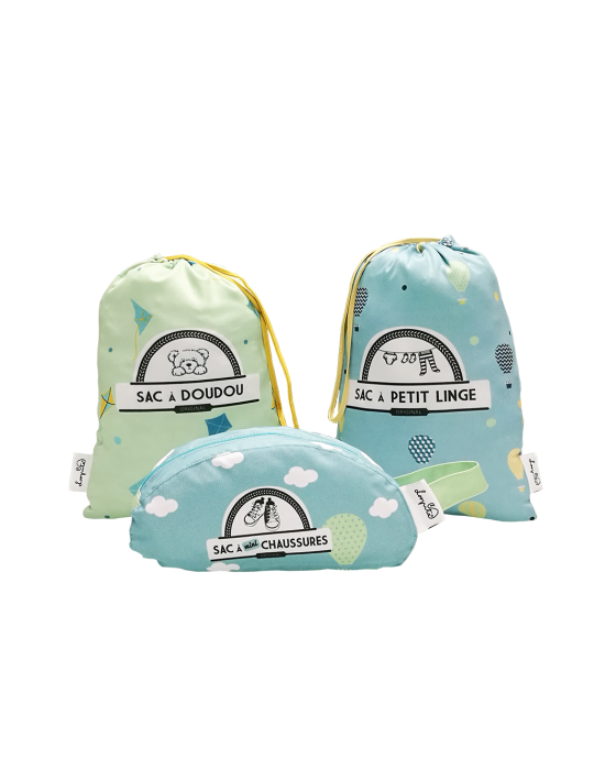 LOOPITA Kit à Partir 2-5 ans valise de petit gars