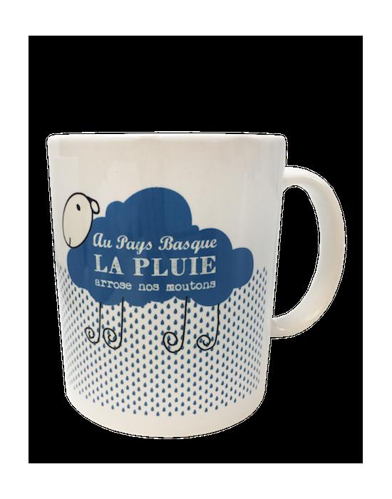 LOOPITA Les mugs de mon pays - La pluie Euskadi recto