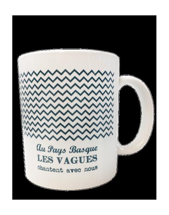 Les mugs de mon pays - Les vagues du Pays Basque