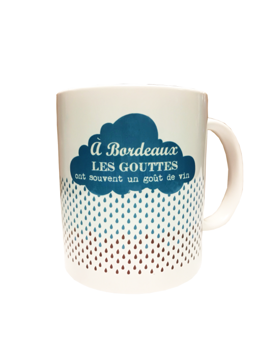 Les mugs de mon pays - La pluie de Bordeaux
