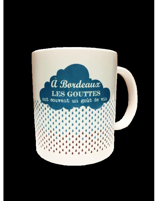 LOOPITA Les mugs de mon pays - La pluie de Bordeaux verso