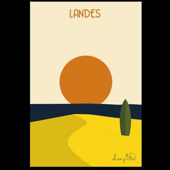 The Landes dune