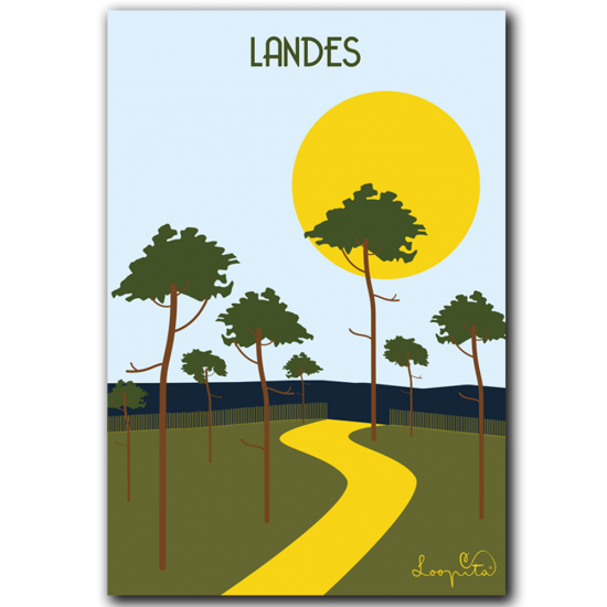 The Landes forest