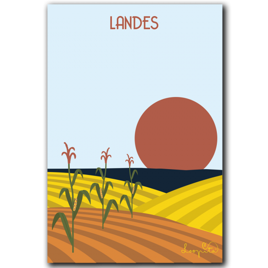 The Landes corn