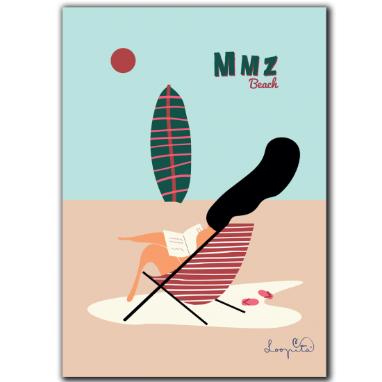 copy of Swimming Girl