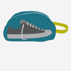 Pour les Kids Sacs à Chaussures