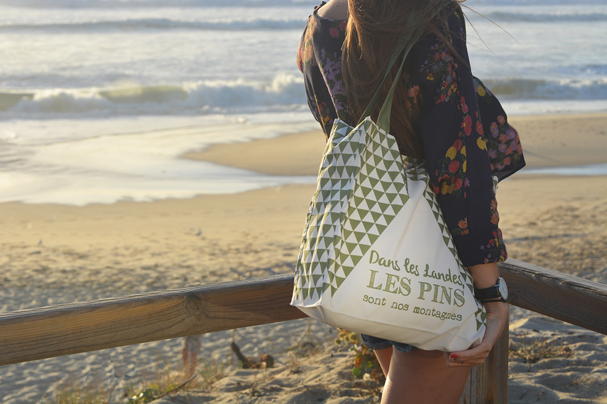 Loopita - tote bag pin des landes